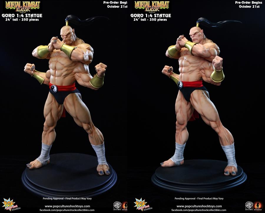 Goro Statue By PCS Pop Culture Shock (Mortal Kombat ...